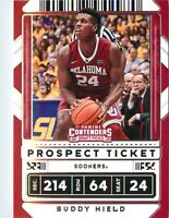 Buddy Hield 2020-21 Contenders Draft Picks Prospect Ticket Card #24 OK Sooners