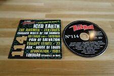 ICED EARTH - THE ANSWER - TEXTURES - GOTTHARD - LOFOFORA - CD ROCK HARD 114
