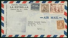 Mayfairstamps Habana 1956 Quad Frank to US New York Airmail cover wwo1389