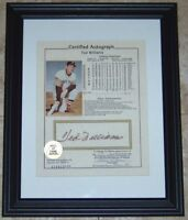 SALE! Ted Williams Signed Autographed Baseball Photo Autograph Reference LOA!