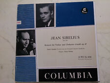 10inch Sibelius Konzert para Violine Oistrakh/Ehrling Columbia 1º WC-So1036