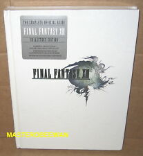 Final Fantasy XIII Collector's Edition Hardcover Official Guide Book PS3 New