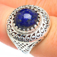 Lapis Lazuli 925 Sterling Silver Ring Size 7 Ana Co Jewelry R60788F