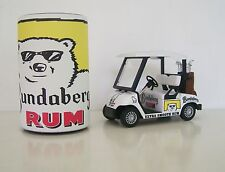 GOLF CART BUGGY- Bundy Rum + Stubby Holder Clubs,Driver,Iron,Putter,Bag, Ball,