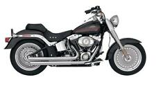 Vance and Hines Double Barrel Stagg Chrome 18001 Fits 1986-2011 H-D Softail