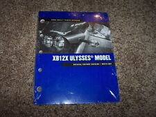 2008 Buell XB12X Ulysses Motorcycle Factory Parts Catalog Manual 99575-08Y