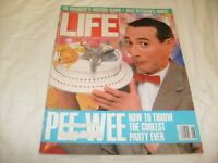 Life Magazine August 1988 Pee Wee Herman Playhouse 1980's Ads / m9