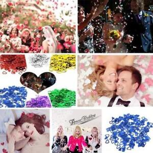Party Foil Table Confetti Scatter/Sprinkle/Decoration Wedding Engagement AA