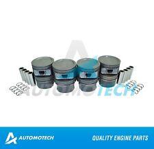 SIZE 020 - Piston Set For Ford Focus Tracer Escort 2.0L