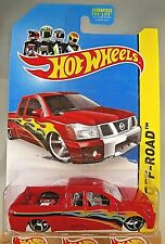 2013 Hot Wheels #164 Kmart Exclusive Off-Road-Hot Trucks NISSAN TITAN Red Varia