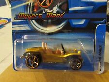 Hot Wheels Meyers Manx Faster Than Ever #139 Gold