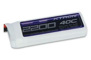 SLS XTRON Lipo 2200mAh 2S1P 7,4V 40C/80C mit XT-60 Stecker! Top-Lipo