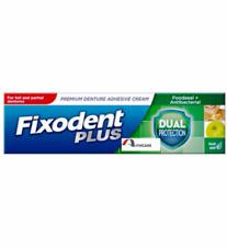 Fixodent Dual Protection Antibacterial Food Seal Denture Adhesive Cream -40g