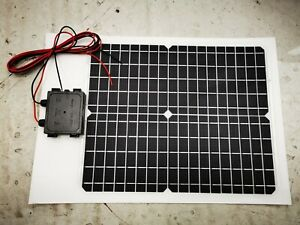 Marine Solar Panel Semi Flexible IP68 Motorboat Boat Yacht and Caravan Motorhome