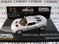 OPE131R 1/43 IXO designer serie OPEL collection : SPEEDSTER N.Loeb M.Smith
