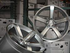 """19"""" MRR VP5 Wheels For BMW E60 525i 528i 535i 540i 545i Staggered Rims Set of 4"""