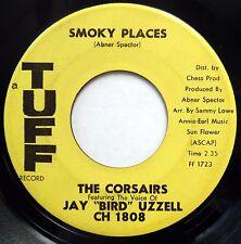 The CORSAIRS 45 Smoky Places Soul Doo Wop 1961 TUFF Promo VG++  #BB1628