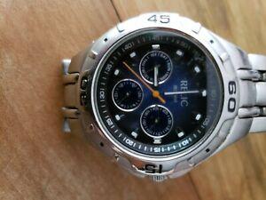 Mens Relic 165 feet wrist watch