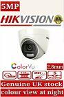 HIKVISION 5MP Camera ColourVu 24hour Smart Light 4in1COLORVU night vision