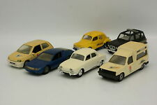 Solido SB 1/43 - Lot de 6 Renault