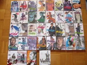 VAGABOND - Manga Band 1 bis 36  1. Auflage deutsch Action Ninja Inoue SELTEN