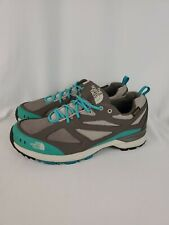 The North Face HydroSeal Waterproof Gray & Blue Athletic Shoes Women's Size 9