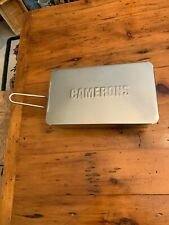 New listing Camerons Mini Stainless Steel Stovetop Smoker Cooker - 7 x 1 x 3.5