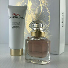 MON GUERLAIN WOMEN 2PC GIFT SET SPRAY 1.0 EDP + LOTION 2.5 OZ NEW IN BOX