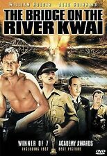 THE BRIDGE ON THE RIVER KWAI (DVD, 2000) New / Factory Sealed / Free Shipping