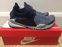 NIKE SOCK DART SE PREMIUM - MIDNIGHT NAVY *BNIB* UK MENS SIZE 7 + 10