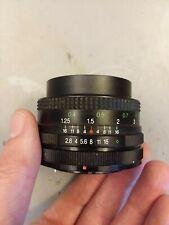 Vivitar 28mm f/2.8 Wide Angle Lens for Canon FD 35mm Film SLR Camera