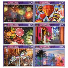 Lot of 5 300 Piece Jigsaw Puzzles Random Puzzles All new Sealed