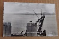 Postcard .Tay road bridge Scotland under construction 1964 real photo unposted
