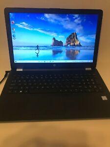 HP Notebook 15-bs1xx  Intel Core i7 8th gen, 8GB Ram, 1TB HDD Win10