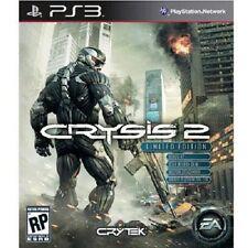 Crysis 2 LIMITED ED w/ Bonus XP, Dog-Tag, SCAR Skin PS3