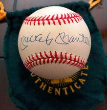 MICKEY MANTLE Signed Baseball +Original Upper Deck Box Certificate Bold Auto UDA