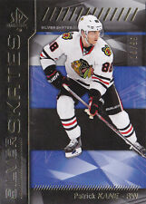 16-17 SP Authentic Patrick Kane /99 Silver Skates GOLD Blackhawks 2016
