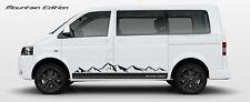 Naklejki Volkswagen T5 T6 Transporter GÓRY MOUNTAIN EDITION Sticker Stripes