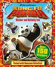 Dreamworks KUNG FU PANDA Sticker and Activity Fun Book ~ Over 150 Stickers