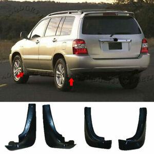 For Toyota Highlander KLUGER 2001-06 Mud Flaps Splash Guard Fender Mudguard kit