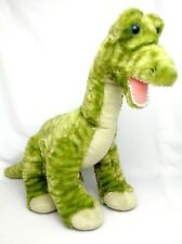 Mint Build A Bear Dinosaur Green Brachiosaurus Stripe Brontosaurus Plush Babw