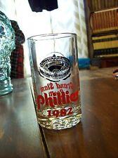 Philadelphia Phillies Vintage 1982 Grand Slam Room Glass Veterans Stadium