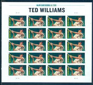 US 4694-4697 4 Sheets/20, Forever Major League Baseball Stars Mint NH