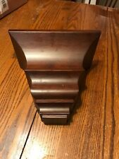 Exposures Walnut Crown Molding Shelf, 6x10x8 Inches  Used