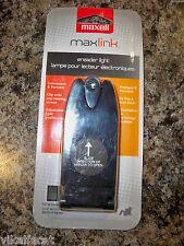 NEW~Maxell Maxlink Ereader Light