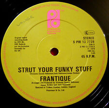 "Frantique Strut Your Funky Stuff 12"" UK ORIG '79 Phil Int. Getting Serious VINYL"