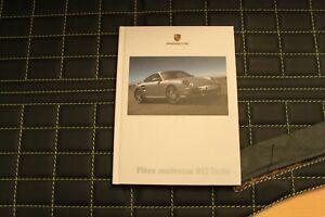 RAR VIP Hardcover Prospekt brochure Porsche 911 997 Turbo Pièce maitresse 12/05