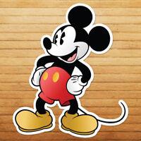 Retro Classic Mickey Mouse Walt Disney Disneyland Wall Car Window Decal Sticker