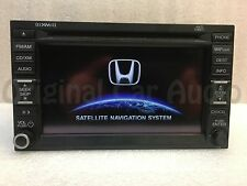 2012 Honda Civic Navigation Radio Display AM FM Sat XM CD Stereo GPS 9AC8