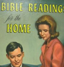 Bible Readings for the Home Hardcover 1967 illustrated Pacific Publishing NO DJ